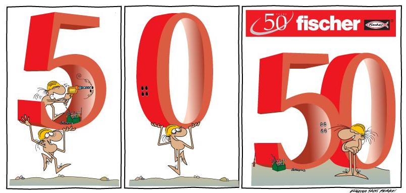 50° FISCHER